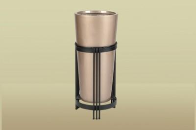 EUROPEAN TALL CYLINDER (IN METAL STAND)