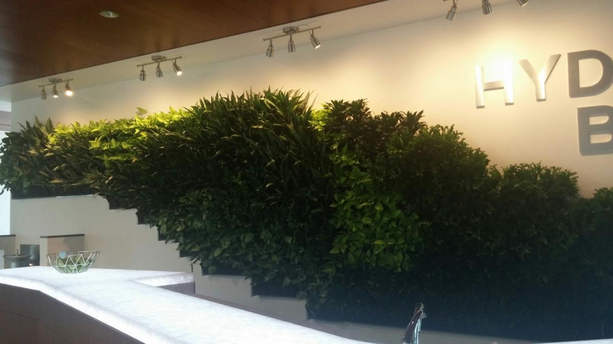 guidewell innovation core green wall