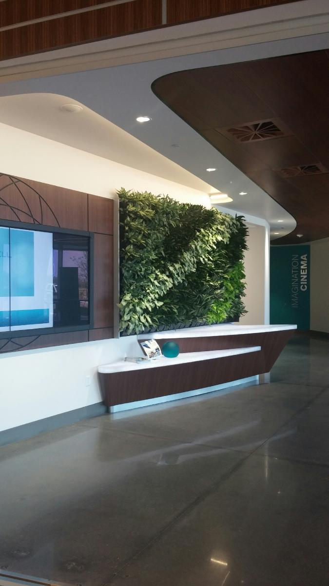 FDS Creates Green Walls for Guidewell Innovation CoRE