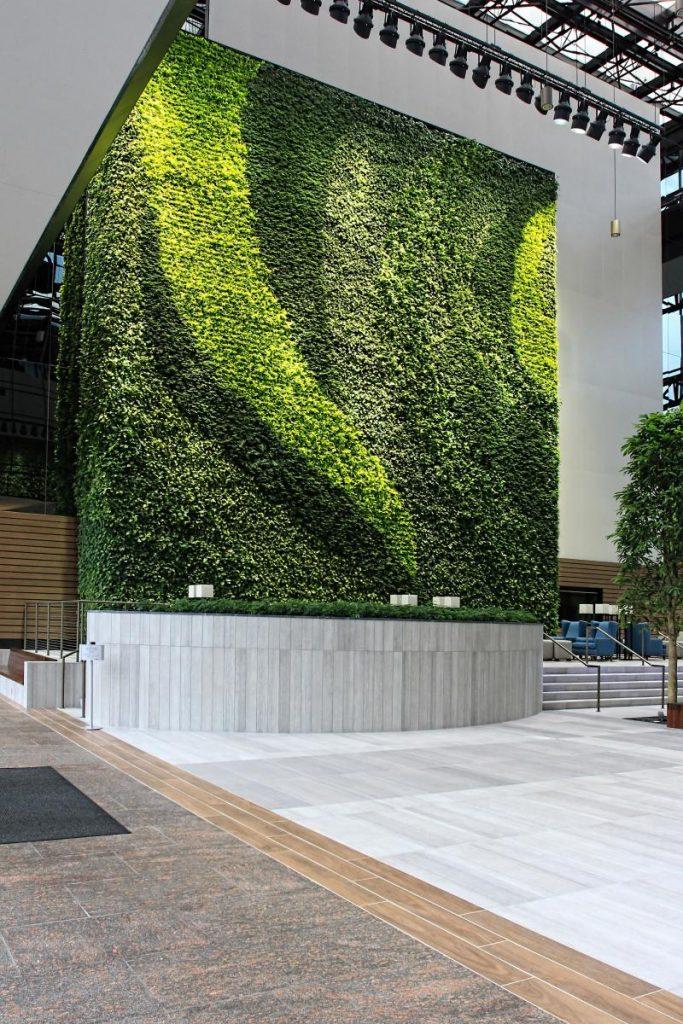 Ravinia Multiple Award Winning Green Wall Foliage